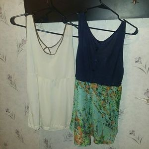 2 Summer glam tops